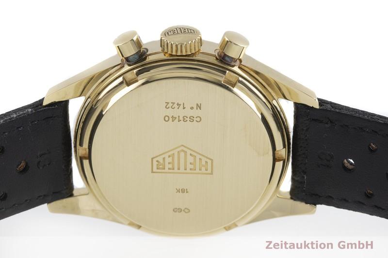 gebrauchte Luxusuhr Tag Heuer Carrera Chronograph 18k Gold Handaufzug Kal. LWO 1873 Ref. CS3140  | 2001463 _0