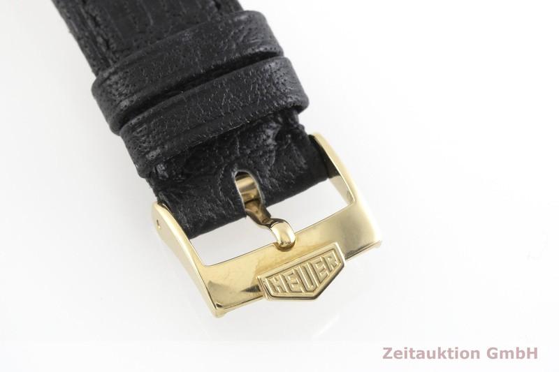 gebrauchte Luxusuhr Tag Heuer Carrera Chronograph 18k Gold Handaufzug Kal. LWO 1873 Ref. CS3140  | 2001463 _1