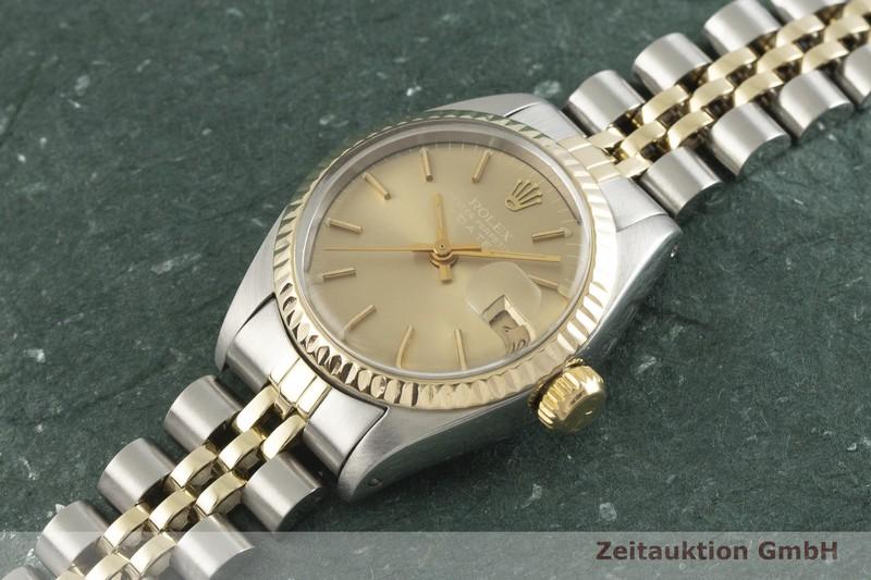 gebrauchte Luxusuhr Rolex Date Stahl / Gold Automatik Kal. 2030 Ref. 6917    2001473 _0