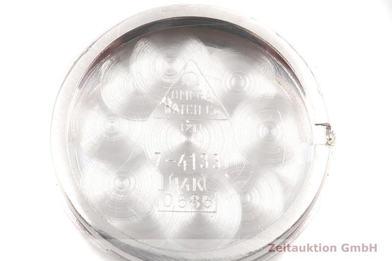 gebrauchte Luxusuhr Omega * 14k Weissgold Handaufzug Kal. 625 Ref. 7-4133 VINTAGE    2001485 _0