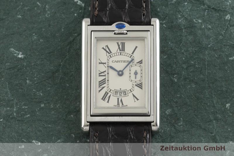 gebrauchte Luxusuhr Cartier Basculante Stahl Quarz Kal. 012N Ref. 2522  | 2001502 _1