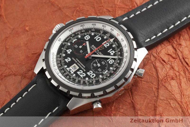 gebrauchte Luxusuhr Breitling Chrono-Matic Chronograph Stahl Automatik Kal. B22, ETA 2892-A2 Ref. A22360 LIMITED EDITION | 2001510 _0