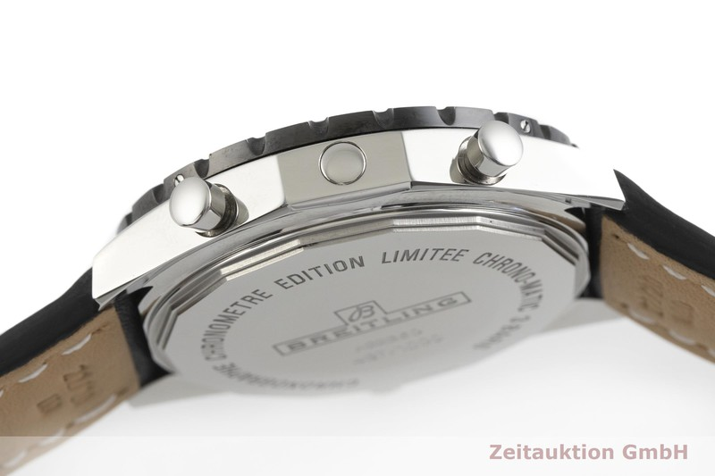 gebrauchte Luxusuhr Breitling Chrono-Matic Chronograph Stahl Automatik Kal. B22, ETA 2892-A2 Ref. A22360 LIMITED EDITION | 2001510 _1