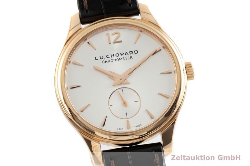 gebrauchte Luxusuhr Chopard L.U.C. 18k Rotgold Automatik Kal. 96.12-L Ref. 1968, 121968-5001    2001511 _0