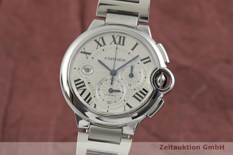 gebrauchte Luxusuhr Cartier Ballon Bleu de Cartier Chronograph Stahl Automatik Kal. 8101 Ref. 3109  | 2001513 _0