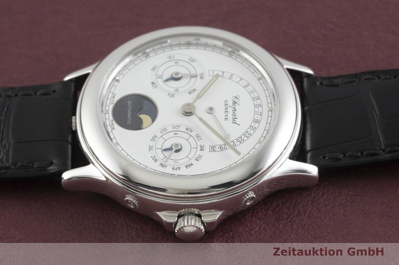 gebrauchte Luxusuhr Chopard Geneve 18k Weissgold Automatik Ref. 361165-1001  | 2001531 _0
