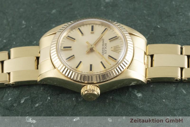 gebrauchte Luxusuhr Rolex Oyster Perpetual 14k Gelbgold Automatik Kal. 2030 Ref. 6719  | 2001542 _0
