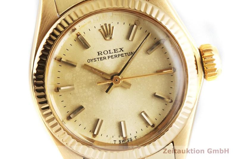 gebrauchte Luxusuhr Rolex Oyster Perpetual 18k Gold Automatik Kal. 2030 Ref. 6719  | 2001543 _0