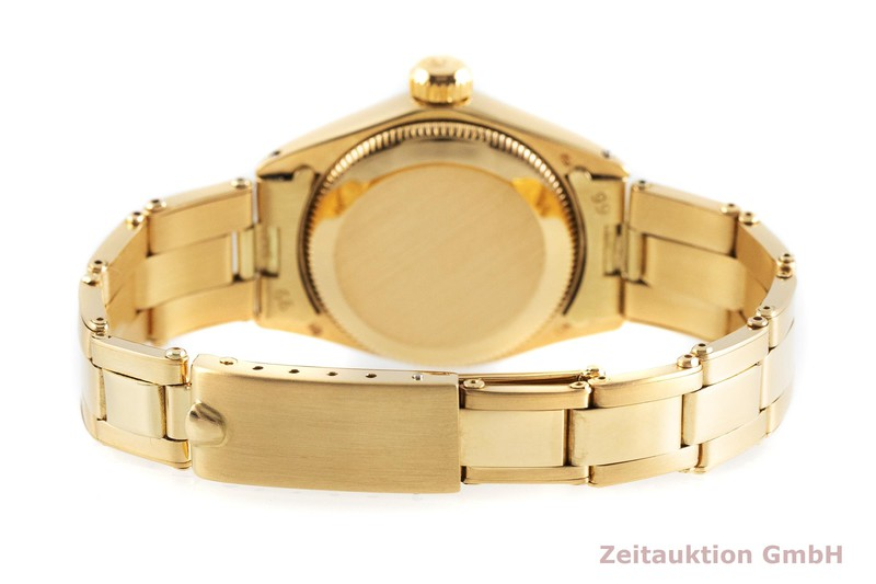 gebrauchte Luxusuhr Rolex Oyster Perpetual 18k Gold Automatik Kal. 2030 Ref. 6719  | 2001543 _1