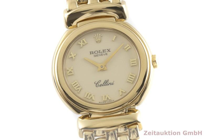 gebrauchte Luxusuhr Rolex Cellini 18k Gold Quarz Kal. 6620 Ref. 6621  | 2001546 _0