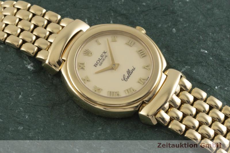 gebrauchte Luxusuhr Rolex Cellini 18k Gold Quarz Kal. 6620 Ref. 6621  | 2001546 _1