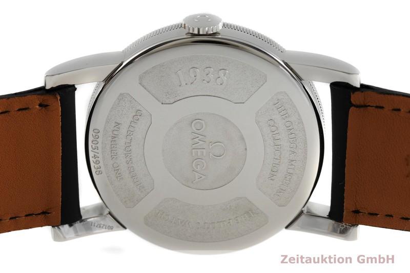gebrauchte Luxusuhr Omega 1938 Stahl Automatik Kal. 2200 Ref. 167.2000 LIMITED EDITION | 2001558 _0