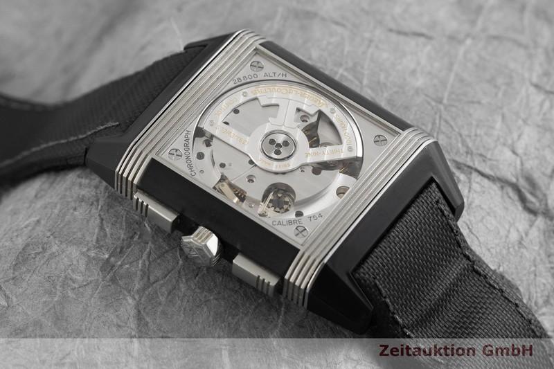 gebrauchte Luxusuhr Jaeger LeCoultre Reverso Chronograph Stahl Automatik Kal. 754 Ref. 230.N.45  | 2001561 _1