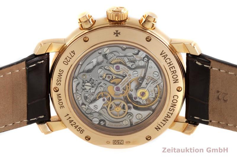 gebrauchte Luxusuhr Vacheron & Constantin Malte Chronograph 18k Rotgold Handaufzug Kal. LWO 1141 Ref. 47120  | 2001563 _0