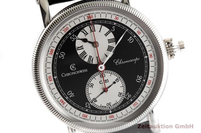 gebrauchte Luxusuhr Chronoswiss Chronoscope Chronograph Stahl Automatik Kal. C.125 Ref. CH1523  | 2001569 _0