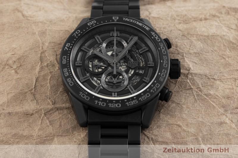 gebrauchte Luxusuhr Tag Heuer Carrera Chronograph Keramik Automatik Kal. 01 Ref. CAR2A91    2001583 _1