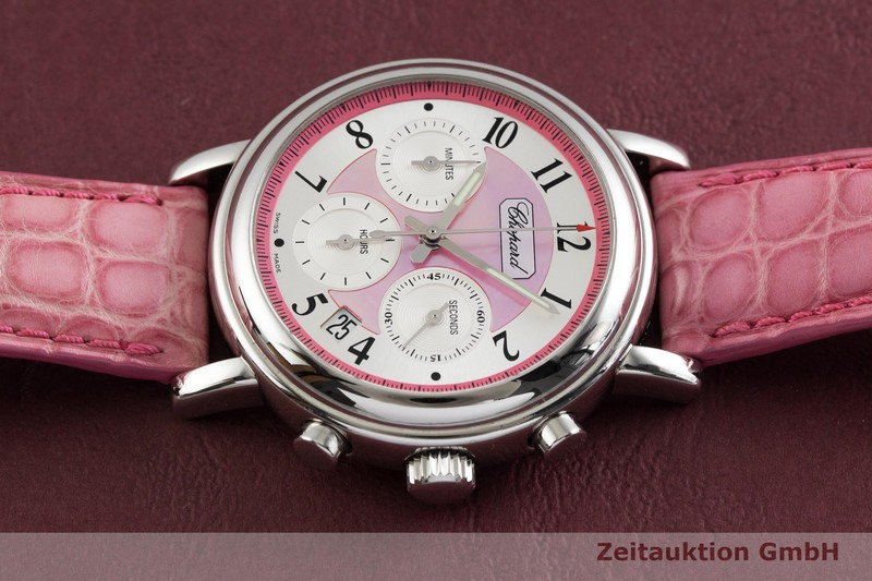 gebrauchte Luxusuhr Chopard Mille Miglia Chronograph Stahl Automatik Kal. ETA 2894-2 Ref. 8331 LIMITED EDITION | 2001586 _0