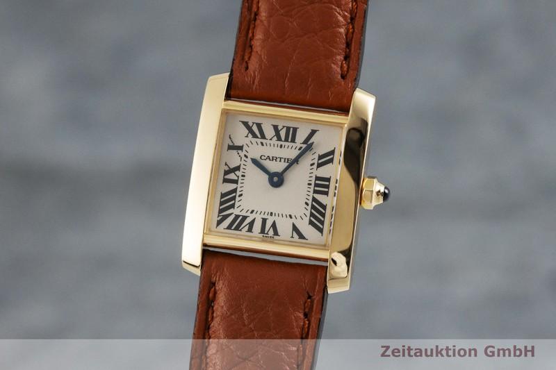 gebrauchte Luxusuhr Cartier Tank Francaise 18k Gold Quarz Kal. 016, ETA 281.002 Ref. 1820  | 2001589 _0