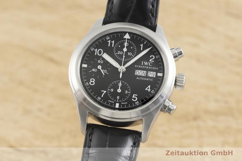 gebrauchte Luxusuhr IWC Fliegerchronograph Chronograph Stahl Automatik Ref. 3706  | 2001604 _0