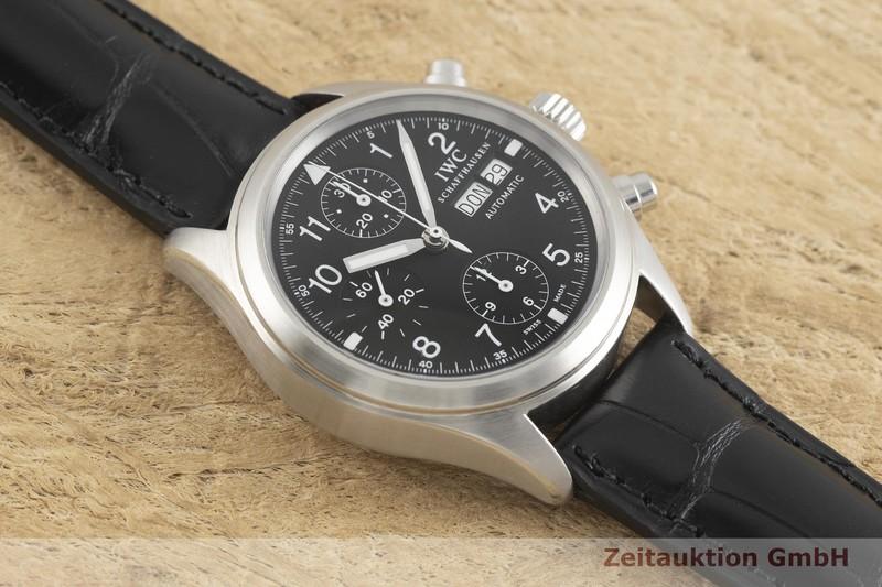 gebrauchte Luxusuhr IWC Fliegerchronograph Chronograph Stahl Automatik Ref. 3706  | 2001604 _1