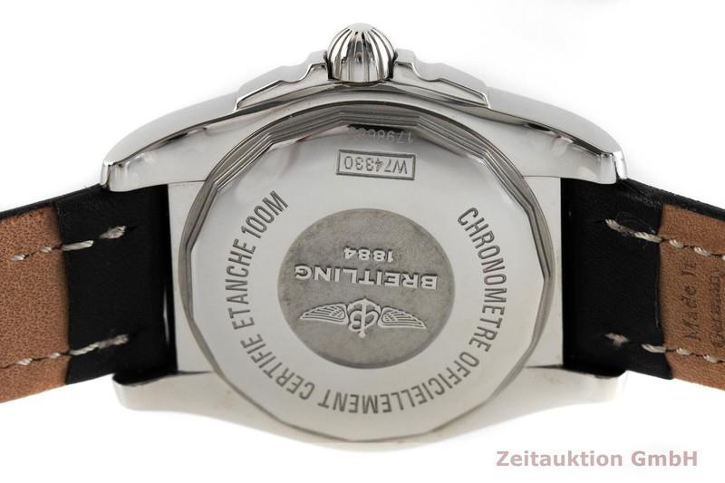 gebrauchte Luxusuhr Breitling Galactic Stahl Quarz Kal. B74 Ref. W74330  | 2001605 _0