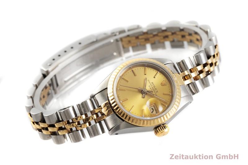 gebrauchte Luxusuhr Rolex Date Stahl / Gold Automatik Kal. 2135 Ref. 69173    2001610 _0