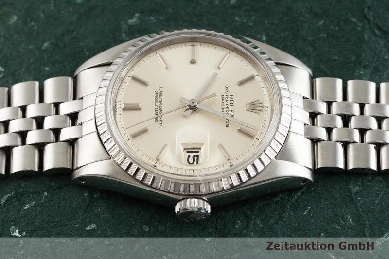gebrauchte Luxusuhr Rolex Datejust Stahl Automatik Kal. 1570 Ref. 1603 VINTAGE  | 2001611 _0