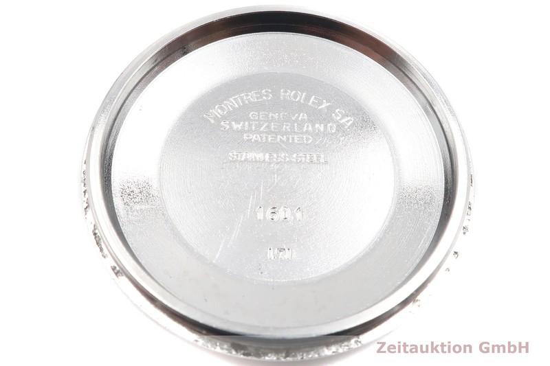 gebrauchte Luxusuhr Rolex Datejust Stahl / Weissgold Automatik Kal. 1570 Ref. 1601 VINTAGE  | 2001612 _0