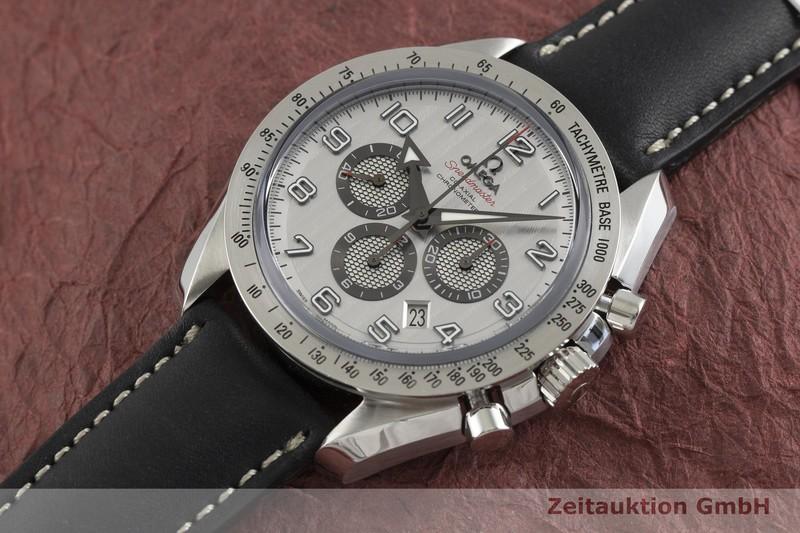 gebrauchte Luxusuhr Omega Speedmaster Chronograph Stahl Automatik Kal. 3313 Ref. 178.0204  | 2001615 _0