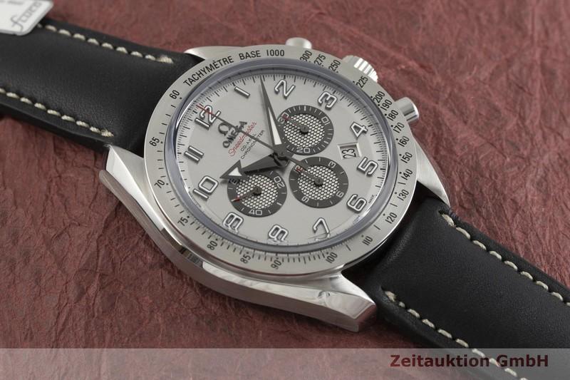 gebrauchte Luxusuhr Omega Speedmaster Chronograph Stahl Automatik Kal. 3313 Ref. 178.0204  | 2001615 _1