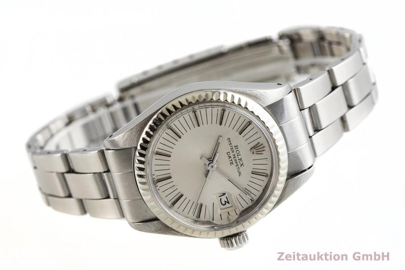 gebrauchte Luxusuhr Rolex Lady Date Stahl Automatik Kal. 2030 Ref. 6917 VINTAGE  | 2001633 _0