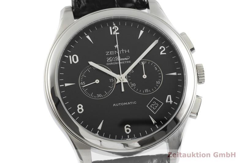 gebrauchte Luxusuhr Zenith El Primero Chronograph Stahl Automatik Kal. 4002 Ref. 03.0520.4002  | 2001634 _0