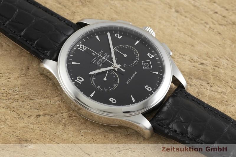 gebrauchte Luxusuhr Zenith El Primero Chronograph Stahl Automatik Kal. 4002 Ref. 03.0520.4002  | 2001634 _1