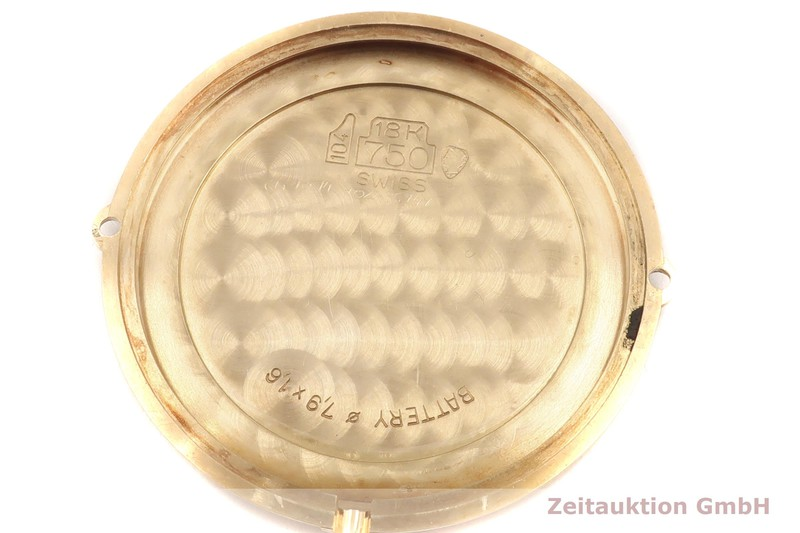 gebrauchte Luxusuhr Cartier Vendome 18k Gold Quarz Kal. 81 Ref. 881001  | 2001643 _0