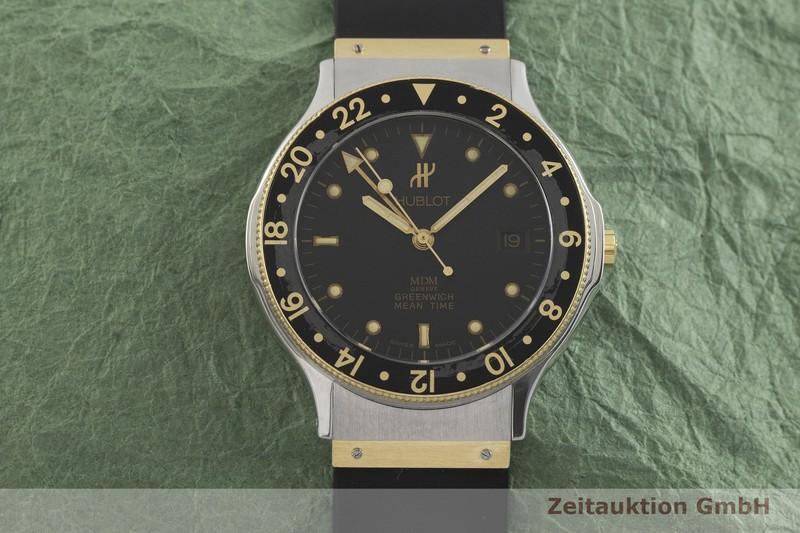 gebrauchte Luxusuhr Hublot MDM Stahl / Gold Quarz Kal. ETA 955.422 Ref. 1571.2  | 2001644 _1