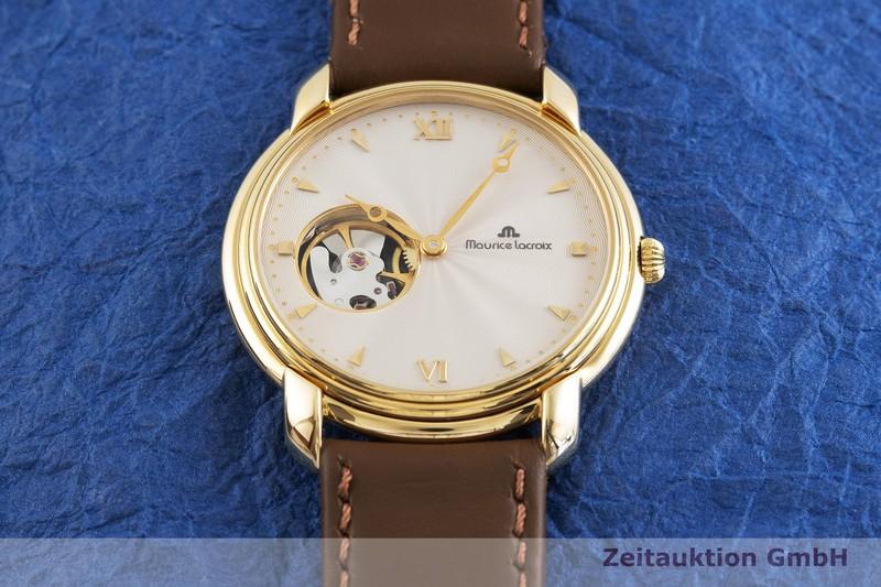 gebrauchte Luxusuhr Maurice Lacroix Mecanique Stahl vergoldet Handaufzug Ref. 38355  | 2001645 _1