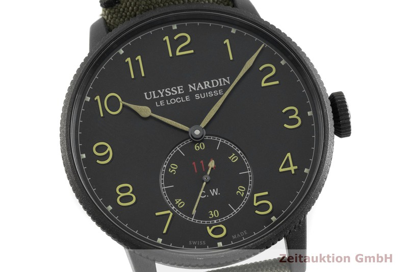 gebrauchte Luxusuhr Ulysse Nardin Marine Torpilleur Stahl Automatik Kal. UN-118 Ref. 1183-320 LIMITED EDITION | 2001647 _0