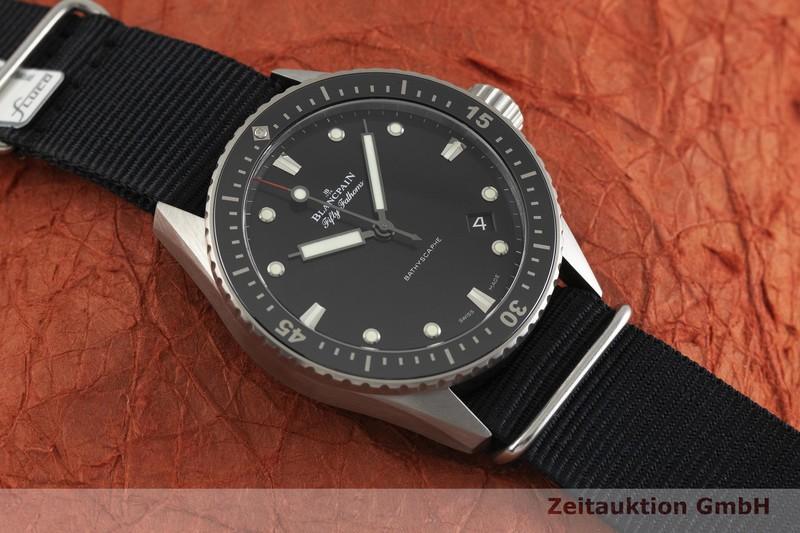 gebrauchte Luxusuhr Blancpain Fifty Fathoms Titan Automatik Kal. 1315 Ref. 5000-1230-B52A  | 2001652 _1