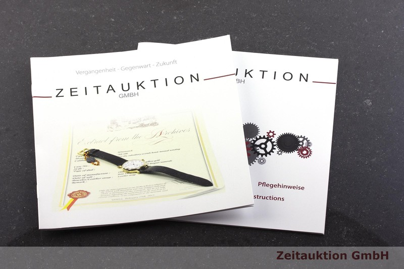 gebrauchte Luxusuhr Blancpain Villeret Chronograph 18k Rotgold Automatik Kal. M185 Ref. 6185-3642-55    2001653 _1