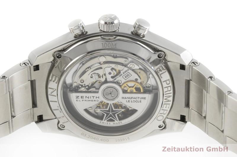 gebrauchte Luxusuhr Zenith El Primero Chronograph Stahl Automatik Kal. 400 Ref. 03.2040.400 / 01.M2040  | 2001658 _0