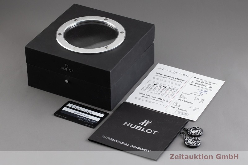 gebrauchte Luxusuhr Hublot Classic Fusion Chronograph Titan Automatik Kal. HUB11, SW 300-1 Ref. 541.NX.7170.LR  | 2001659 _0
