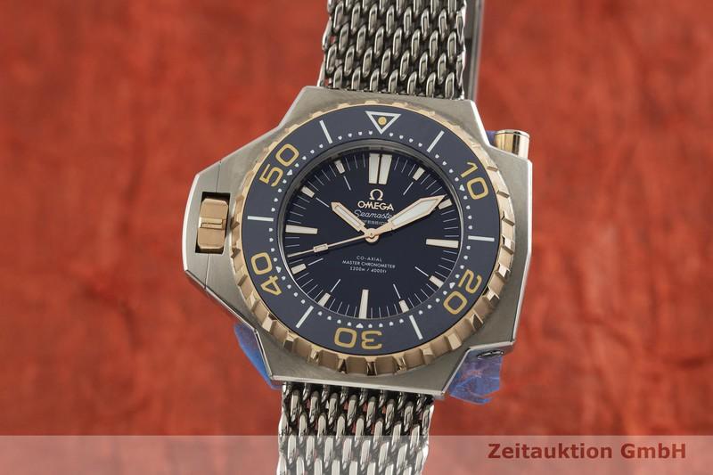 gebrauchte Luxusuhr Omega Seamaster Titan / Gold Automatik Kal. 8912 Ref. 227.60.55.21.03.001    2001660 _0