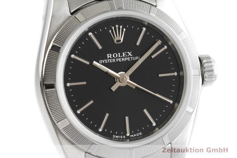 gebrauchte Luxusuhr Rolex Oyster Perpetual Stahl Automatik Kal. 2230 Ref. 76030    2001669 _0