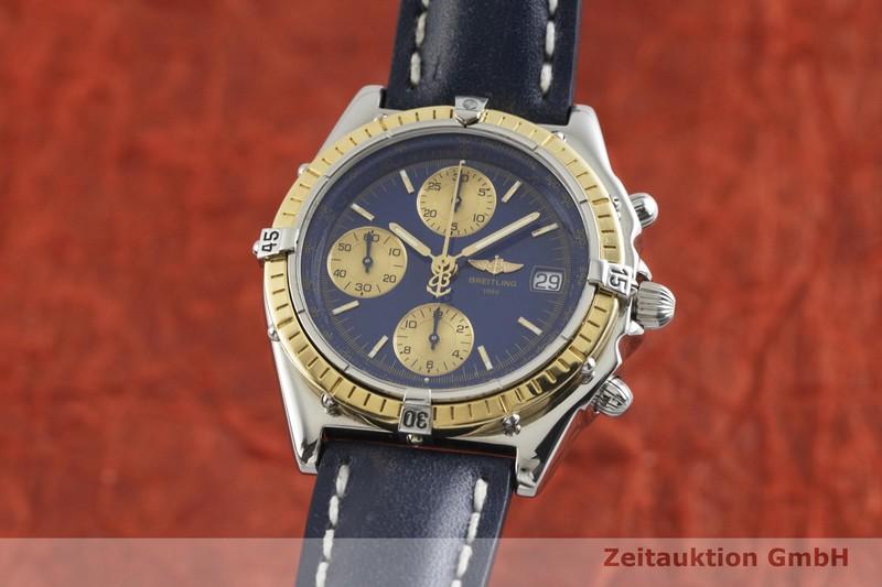 gebrauchte Luxusuhr Breitling Chronomat Chronograph Stahl / Gold Automatik Kal. B13, ETA 7750 Ref. D13050    2001679 _0
