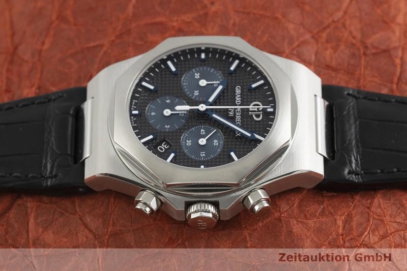 gebrauchte Luxusuhr Girard Perregaux Laureato Chronograph Stahl Automatik Kal. 3300 Ref. 81040-11-631-BB6A  | 2001688 _0