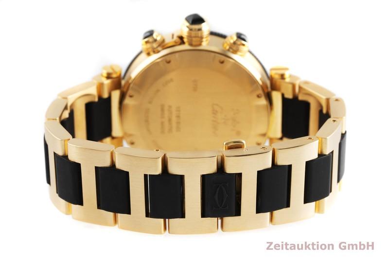 gebrauchte Luxusuhr Cartier Pasha Chronograph 18k Gold Automatik Kal. 8630, ETA 7753 Ref. 3027  | 2001689 _1