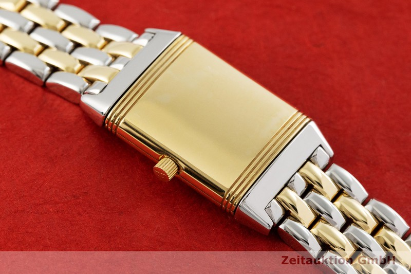 gebrauchte Luxusuhr Jaeger LeCoultre Reverso Stahl / Gold Quarz Kal. H1137 Ref. 140.262.5    2001690 _1