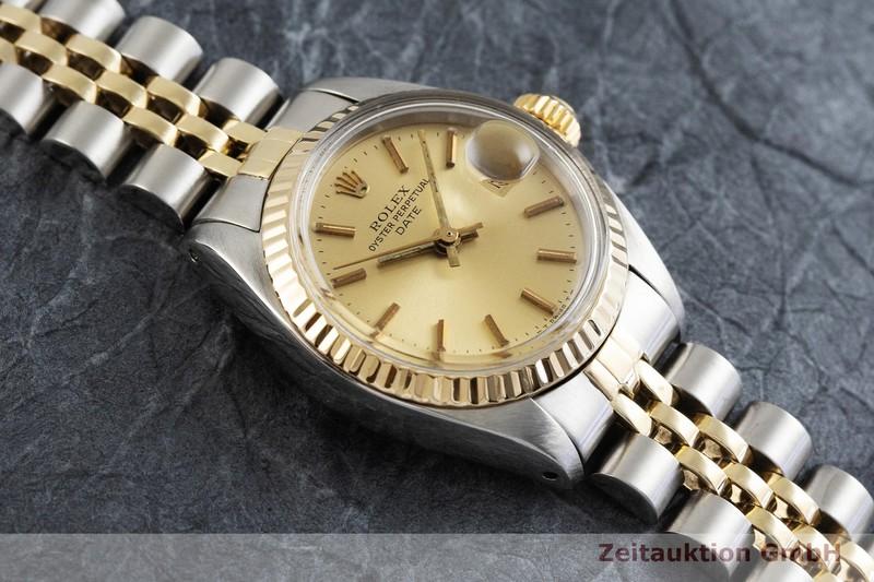 gebrauchte Luxusuhr Rolex Date Stahl / Gold Automatik Kal. 2030 Ref. 6917  | 2001693 _1