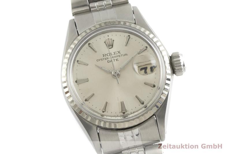 gebrauchte Luxusuhr Rolex Lady Date Stahl / Weissgold Automatik Kal. 1161 Ref. 6517    2001698 _0