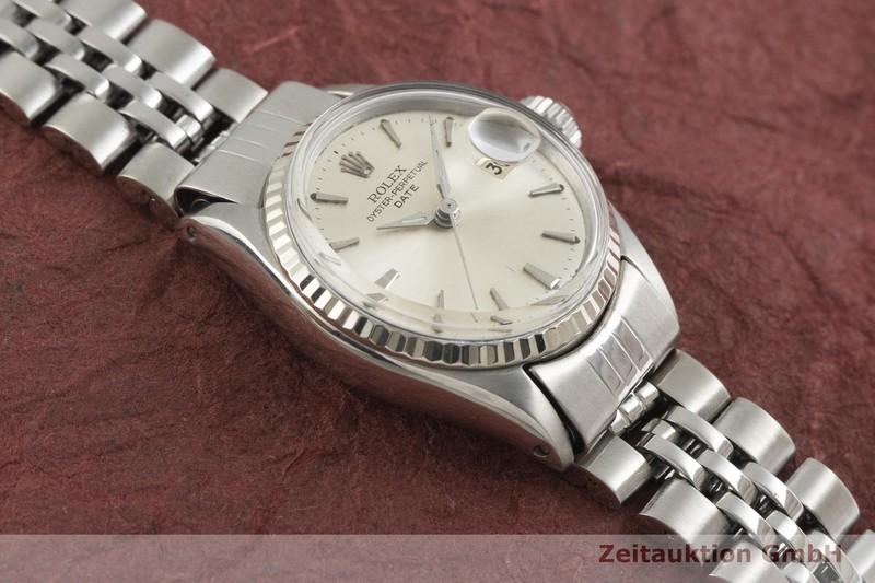 gebrauchte Luxusuhr Rolex Lady Date Stahl / Weissgold Automatik Kal. 1161 Ref. 6517    2001698 _1